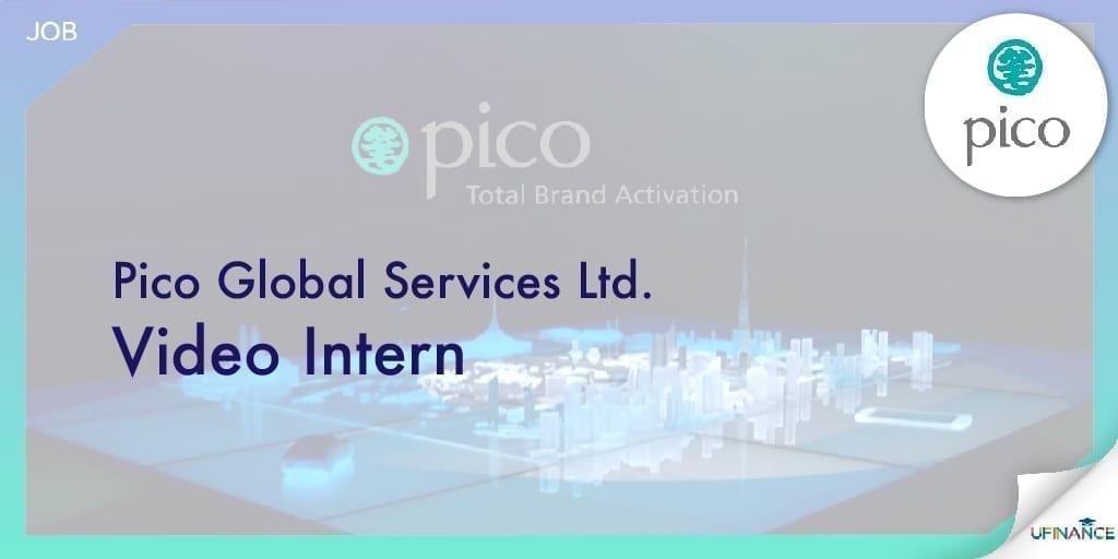 【未來Youtuber請進】Pico Video Intern