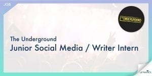【Band友看過來!】The Underground Junior Social Media - Writer Intern-01-min