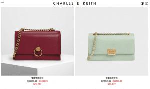 【網購優惠】Charles & Keith/名牌網MATCHESFASHION/Sephora