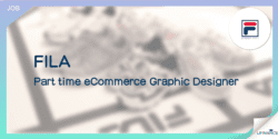 【Fila請人】Part time eCommerce Graphic Designer