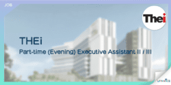 【THEi請人】Part-time (Evening) Executive Assistant II III