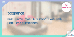【foodpanda請人】Fleet Recruitment & Support Executive (Part Time Freelance)